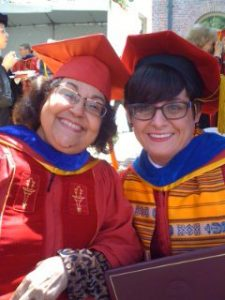 Me and Dr. Teresa McKenna on the day of my Ph.D. hooding.
